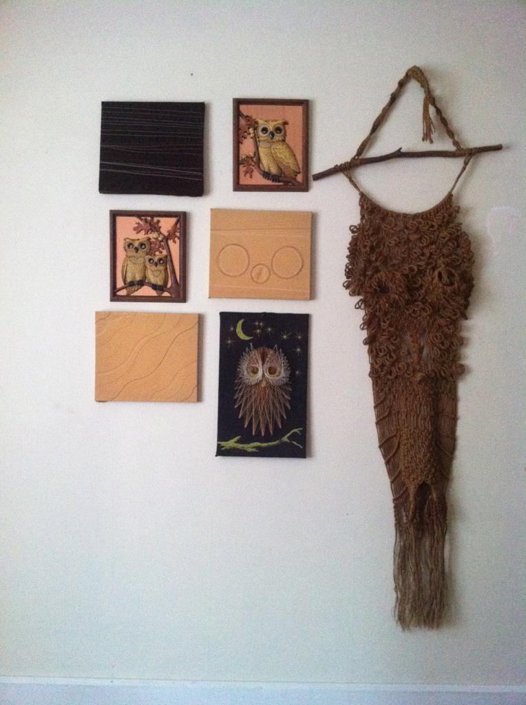 The owl wall in my bedroom
