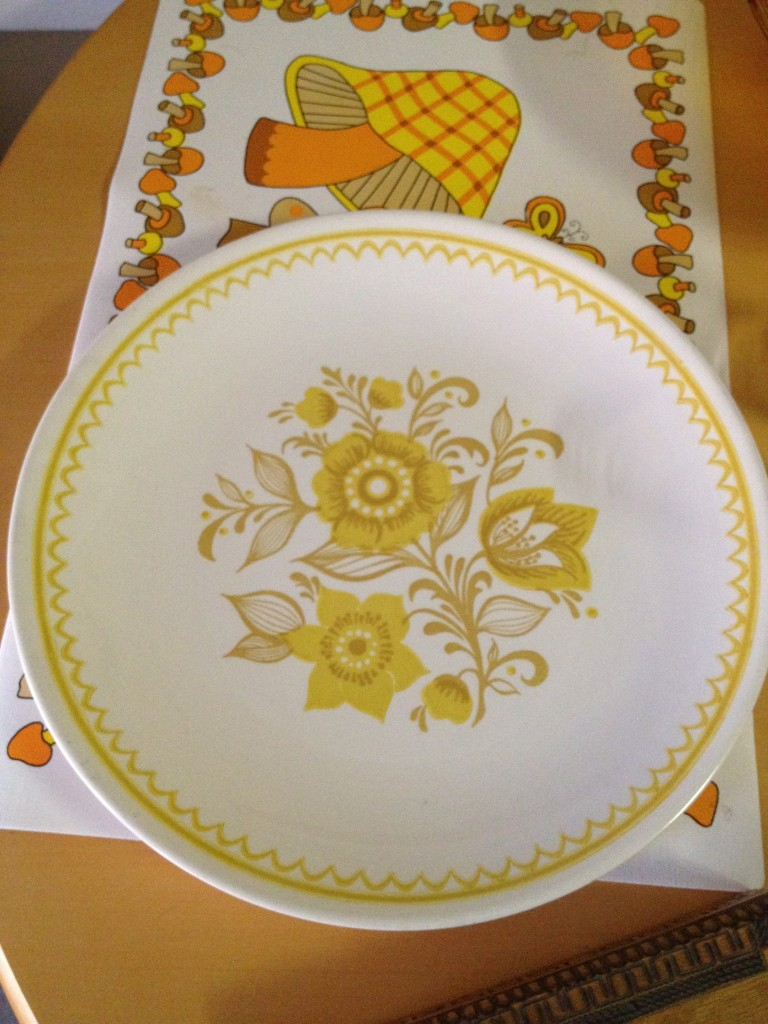 I nearly died over this plate. $.79